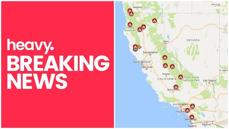 California Fire Map Near Me