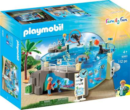 playmobile aquarium