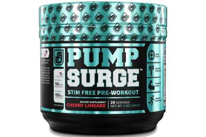 pump surge pre workout for women