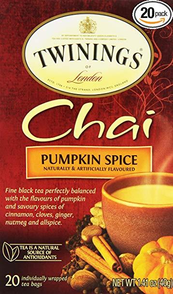pumpkin spice chai