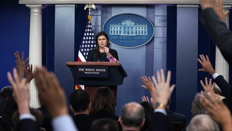 WATCH: Sarah Sanders Asked About QAnon at Press Briefing