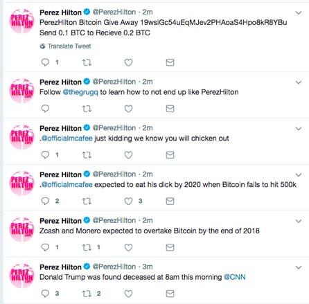 Perez Hilton Twitter