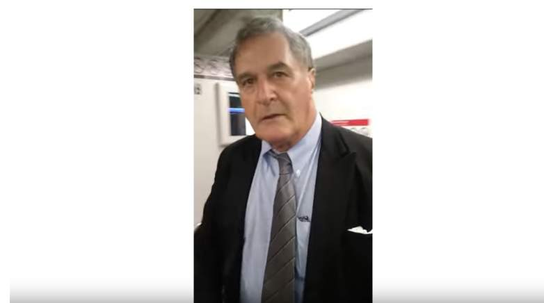 Man dragged off train