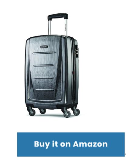 hardside carry-on suitcase
