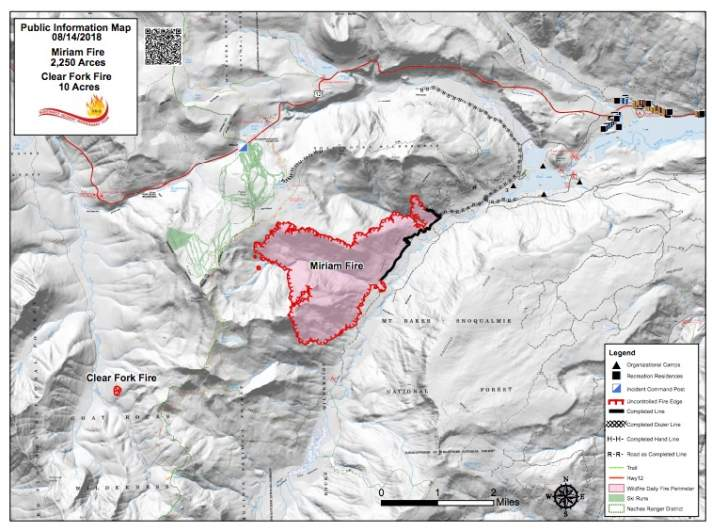 Miriam Fire Map