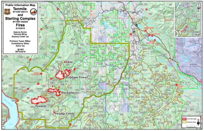 Sterling Complex Fire Map