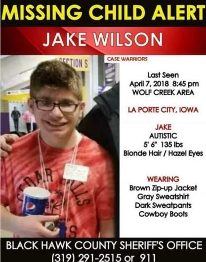 Jake Wilson Missing