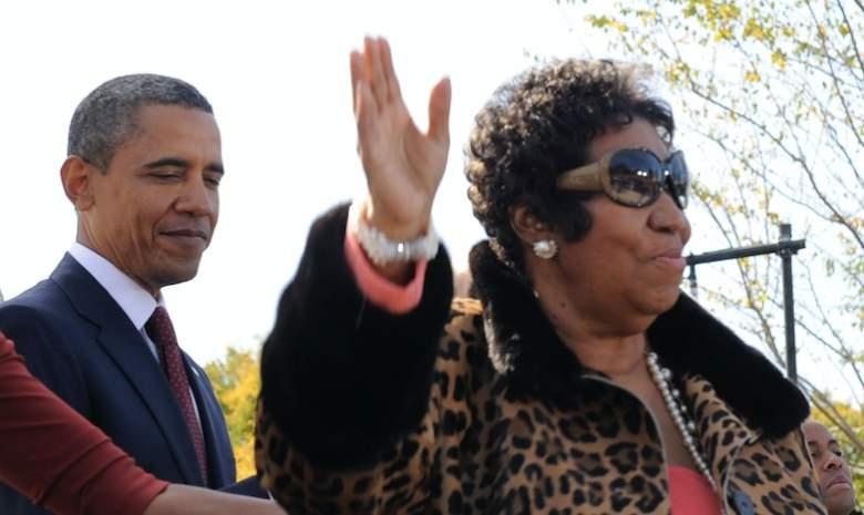 Barack Obama Aretha Franklin