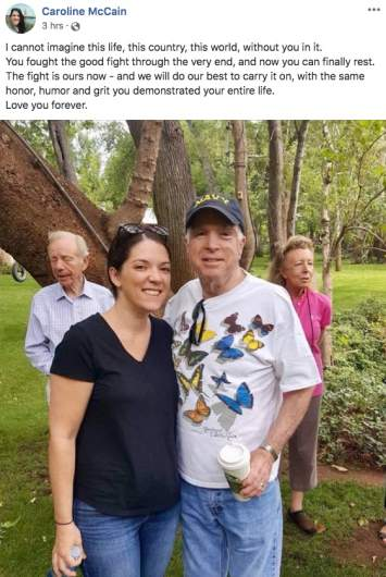 Caroline McCain