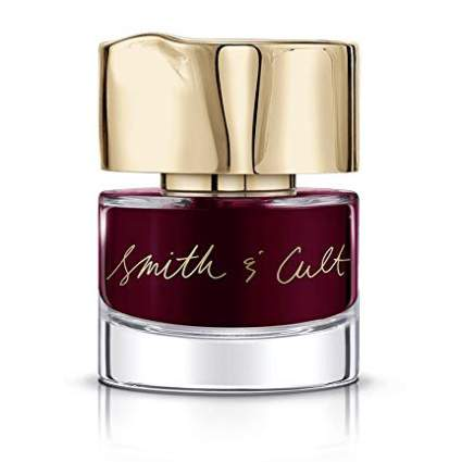 Oxblood red nail polish by Smith & Cult