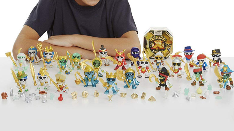 treasure x toys