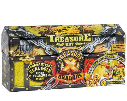 treasure x dragons gold treasure set