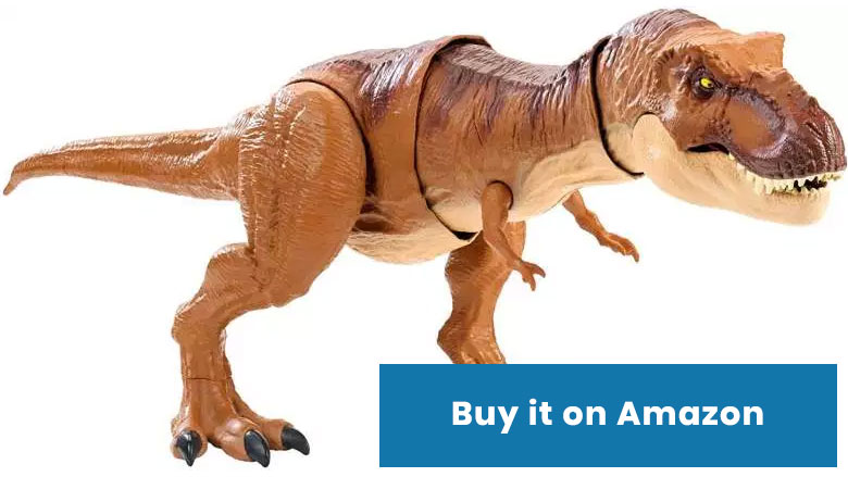 jurassic world trex toy