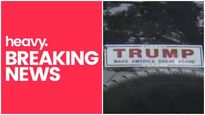 trump bumper sticker
