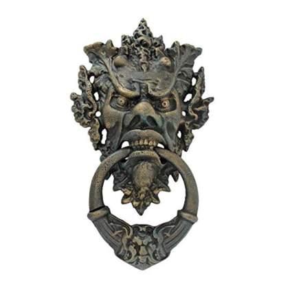 gothic iron door knocker