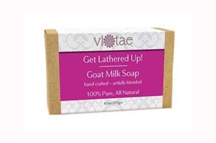 natural goat milk soap bar