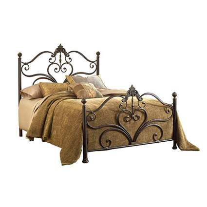 victorian bed frame with rails