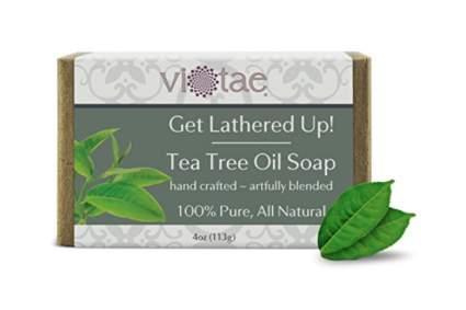 100 percent natural tea tree oil soap