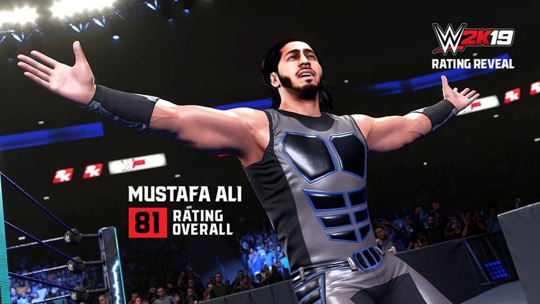 WWE 2K19 Mustafa Ali