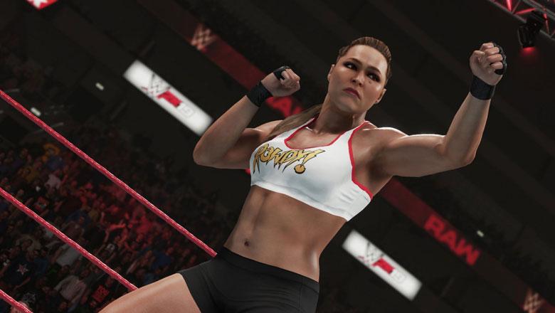WWE 2K19 Ronda Rousey