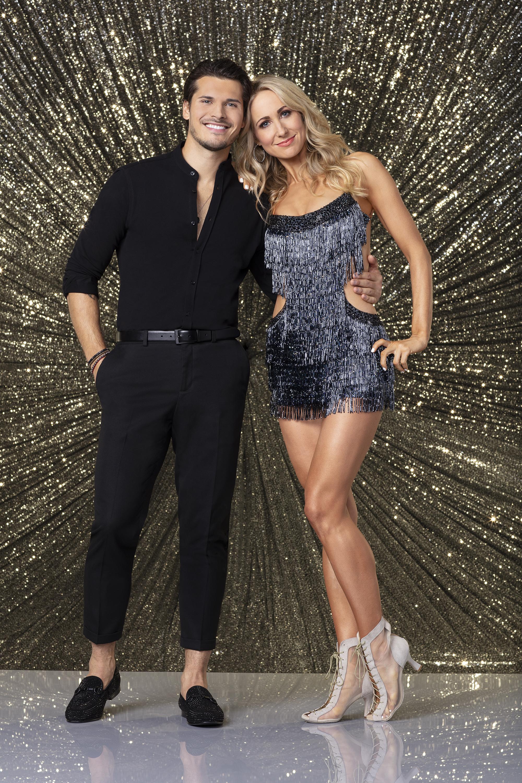 Nikki Glaser and Gleb Savchenko