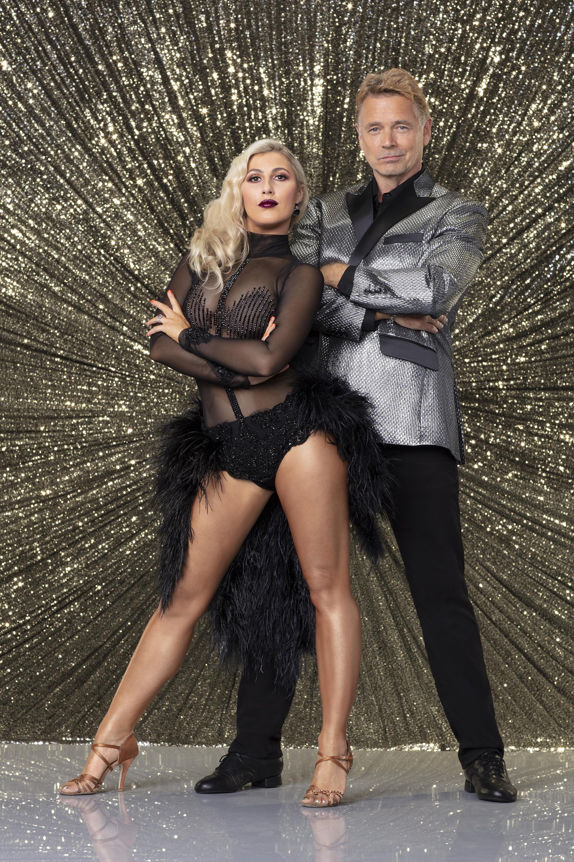 John Schneider and Emma Slater