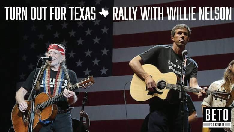 Beto Willie Nelson Rally
