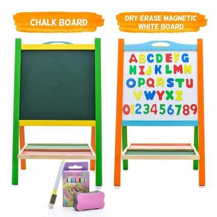 Elk & Bear Double Sided Magnetic Whiteboard