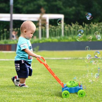 Bubble Mower for Toddlers
