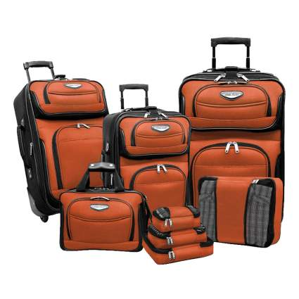 8 piece luggage