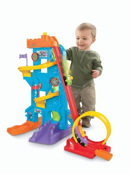 Fisher-Price Little People Loops 'n Swoops Amusement Park