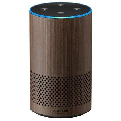 Amazon Echo 2nd Generation with Walnut Finish