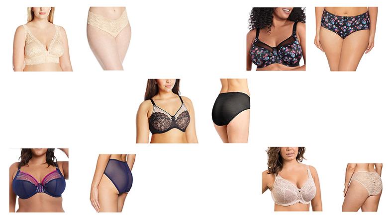 plus size bra and panty sets