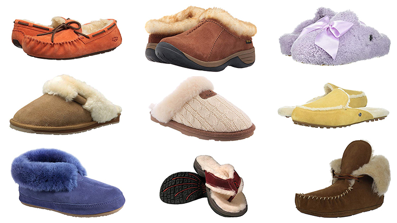 best sheepskin slippers for women