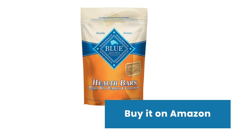 blue buffalo pumpkin dog treats