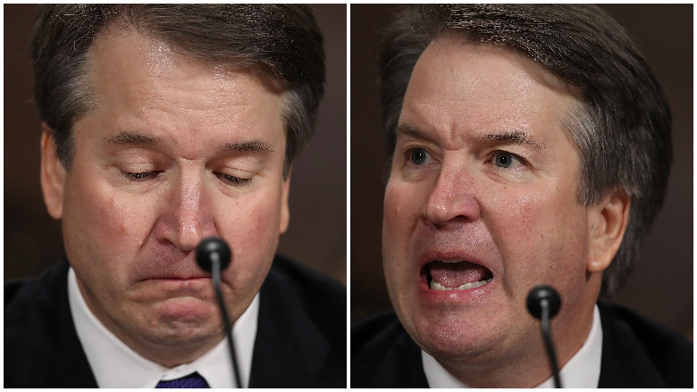 brett kavanaugh crying