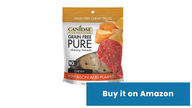 canidae pumpkin dog treats