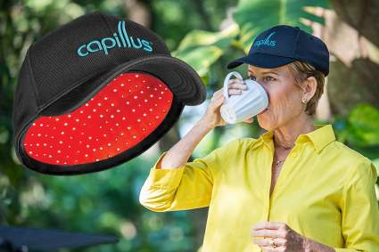 CapillusPro mobile laser therapy cap for hair regrowth hair loss