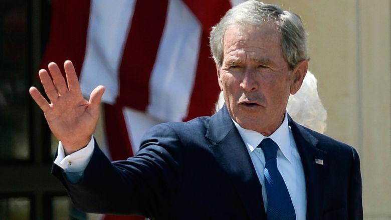 George Bush selfie
