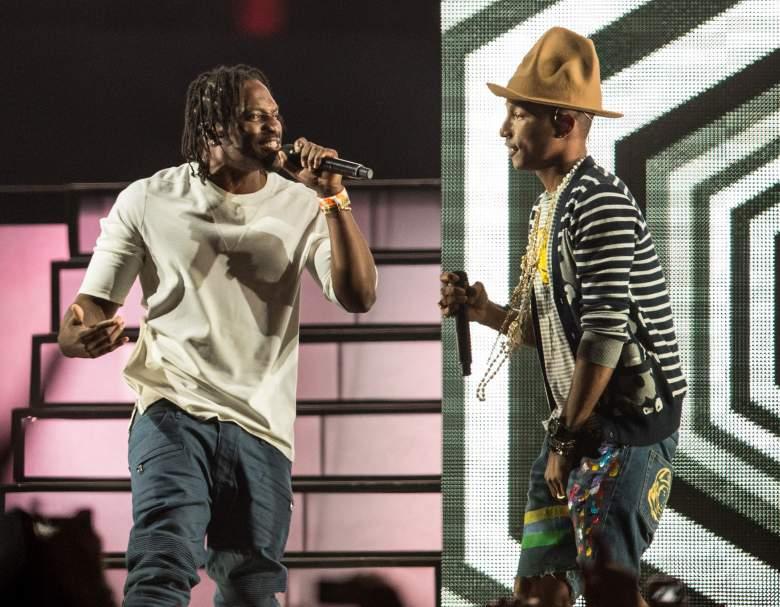Pusha T x Pharrell Perform at 2014 Coachella Music Festival