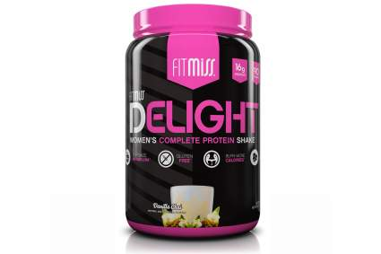 Healthy Nutritional Shake for Women with Whey Protein, Fruits, Vegetables and Digestive Enzymes, 2 lbs by FitMiss best womens protein powder