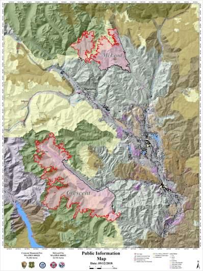 Holman Fire Map