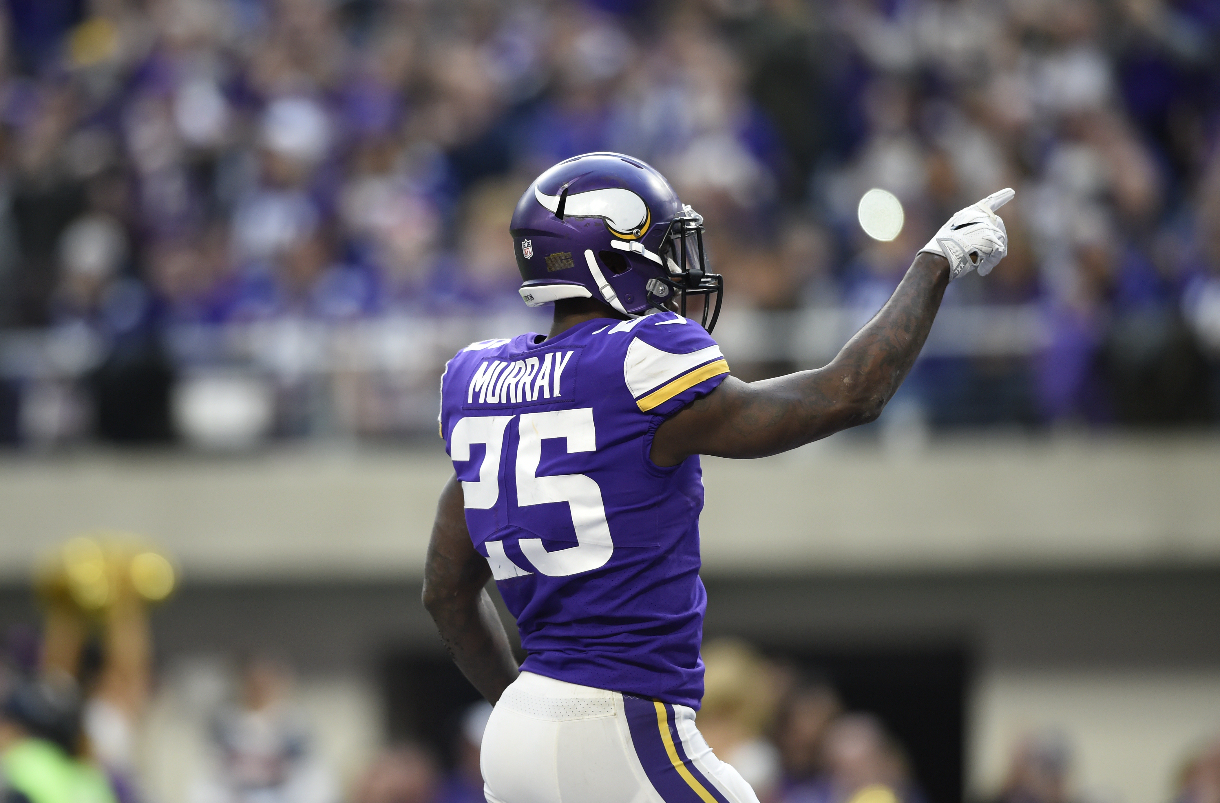 Latavius Murray Fantasy Should You Start Or Sit The Vikings Rb Heavy Com