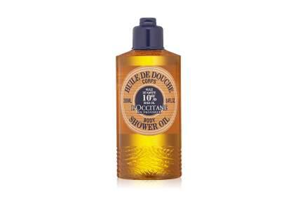 Golden bottle of L'Occitane oil