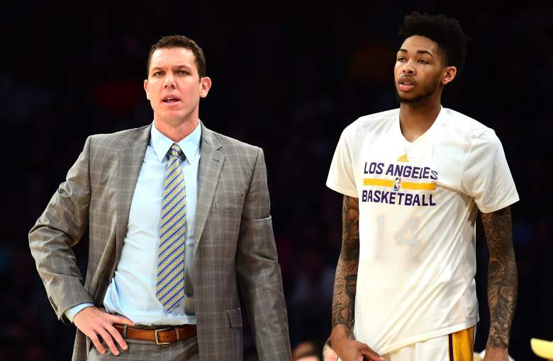 Luke Walton Brandon Ingram