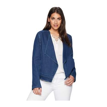 lysse boho style plus size denim jacket