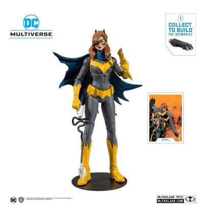 McFarlane Toys DC Multiverse Batgirl: Art of The Crime Action Figure