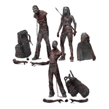 michonne and pet zombies figures