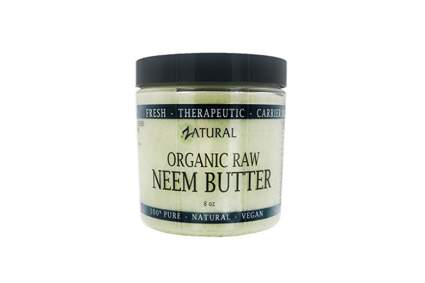 organic neem and shea body butter