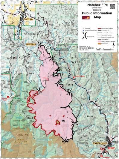 Natchez Fire Map